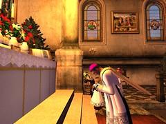 Mass for Christmas (Archdiocese of Lepanto) Tags: firestormsecondlife lepanto church slchurch catholic slcatholic materdolorosa archdioceseoflepanto virtualchurch christmas masssecondliferegionrothkosecondlifeparcelcatholicchurcharchdioceseoflepantomaterdolorosachurchsecondlifex52secondlifey12secondlifez27