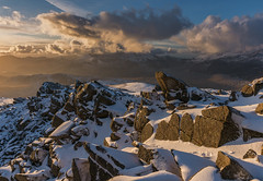 'A Siabod Sunset' - Moel Siabod, Snowdonia (Kristofer Williams) Tags: moelsiabod snowdonia snowdon mountain mountains landscape sunset light sunlight rocks clouds sky wales
