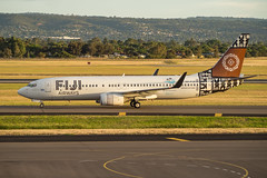 Fiji Airways | B737-800 | DQ-FLG (Anthony Kernich Photo) Tags: b737800 b737 boeing737 boeing airplane aircraft airplanepicture airplanephotograph airplanephoto adelaide adelaideairport plane aviation jet olympusem10 olympus olympusomd commercialaviation planespotting planespot 737800 aeroplane flight flying airline airliner kadl kpad adl airport raw boeing737800 737 livery dqflg fijiairways goldenhour