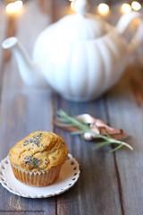 Muffin di farro con pecorino al pepe e nocciole 1 (Giovanna-la cuoca eclettica) Tags: muffin formaggio stilllife xmas natale food healthy healthyfood