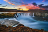 waterfall of the gods (Alexander Lauterbach Photography) Tags: godafoss goðafoss iceland waterfall sunset nordic travel water longexposure sony a7r landscape