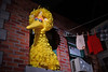 Big Bird (dr_marvel) Tags: bigbird rochester ny newyork sesamestreet strong strongmuseumofplay play yellow feathers bird clothesline