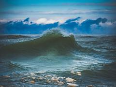 Curled and Fluid (MacDonald_Photo) Tags: jamieamacdonald sl33stak zd lightroom oly olympus zuiko eatonrapids michigan getolympus omd omdem1mkii μ43photography μ43 em1mkii omdem1markii 12100mm 12100mmf4 mzuiko12100mmf4pro water lakemichigan stjoseph stjosephmichigan waves winter cold ice