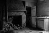 Cold Kitchen (lancekingphoto) Tags: kitchen hearth sink firewood abandoned farm farmhouse farmlife tennessee thesouth blackandwhite fujifilmxt2 fujinonxf23mmf14r
