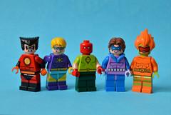 Throwback (th_squirrel) Tags: lego comics superheroes minifigs minifig minifigures minifigure 80s 90s