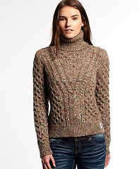 Girl in textured turtleneck jumper (Mytwist) Tags: superdry women wool style fashion modern warm knit sweater jumper lady knitwear girlfriend