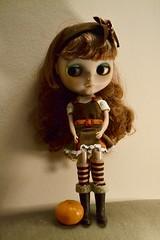 Festive Felix (Nina A. J. G.) Tags: blythe blythedoll takarablythe doll customblythe mellykaycustom citrus fruit mandarin