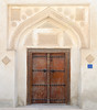 Entrance to an old house (Francisco Anzola) Tags: ngc bahrain middleeast muharraq city portico door gate wood ornate architecture