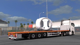 Scania S500 + Faymonville MAX Trailer 200