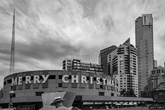 """""""Christmas is the spirit of giving without a thought of getting. It is happiness because we see joy in people. It is forgetting self and finding time for others. It is discarding the meaningless and stressing the true values."""" -Thomas S. Monson (JF.Paillié) Tags: melbourne victoria australia au streetsvision citylife streetlife streetphoto streetphotographer everybodystreet urbanandstreet urbanphotography streetphotoclub melbonpics melbourneiloveyou justgoshoot motivation canonaustralia sigmamoments bnwsociety bnwlife blackandwhitephotography bnwcaptures bnwdrama bnw monochrome christmas merrychristmas"""