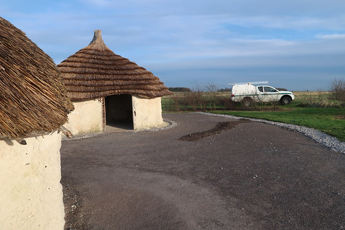Stonehenge Visitor Centre - Neolithic Houses & ATC visit