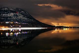Day 352: Okanagan Lake at Night