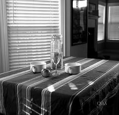 Various Glass and Tableware and Apple (Dennis M Chua) Tags: csaaphotography blackandwhite filmphotography istillshootfilm believeinfilm 120film kodak tmy400 epson v600 zeiss superikonta 53316 8028zeisstessar 6x6 foldercamera vintagecamera stilllife superikontabx mediumformat