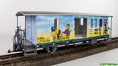 LGB 34555 - RhB Fahrradwagen (Stefan's Gartenbahn) Tags: rhb fahrradwagen gepäckwagen velowagen d4029 lgb 34555 personenwagen 36354 deutschereichsbahn sachsen kb4trp 970619 970550 970 gartenbahn fgbberlin fgb fgbteam dr schmalspurbahn deutsche reichsbahn