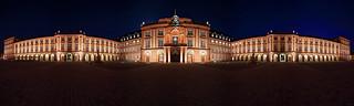 Schloss Mannheim - Panorama