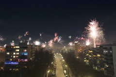 Silvester 2018 (Mathias Apitz (München)) Tags: feuerwerk firework haar münchen silvester sylvester happy new year 2018 night light home color farben bunt strasse street
