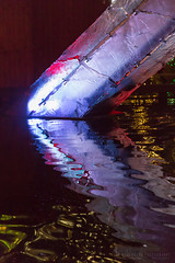 Olympic Fountain (Lee Rosenbaum) Tags: vancouverchristmasmarket abstract vancouver market olympictorch britishcolumbia fountain christmas