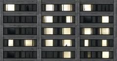 Good Night (Underground Joan Photography) Tags: sheratonhotel hotel toronto lines geometry nightphotography silhouette minimal minimalism window concrete architecture building geometric