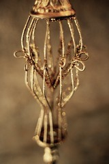 Glitter (Kate ENK) Tags: ornament christmas macro glitter sparkle gold