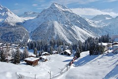 Swiss Winter (paul_braybrook) Tags: arosa switzerland snow mountains winter winterbeauty europeanrail rhatischebahn railway trains