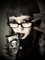 Play with me..!! (lemmykane) Tags: girlswithglasses skull