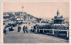 Bournemouth - Pier Approach and Undercliff Drive in the 1920's (pepandtim) Tags: postcard old early nostalgia nostalgic bournemouth pier approach undercliff drive 1920s printed england deep conversation delivery bicycle fudge 77bpa45