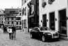 A Ghost in Petit France (Jorg3L) Tags: rollsroyce ghost petitfrance strasbourg france hotel cobblestone