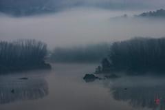 Néboas e choiva. (loisrua +1.800.000 visitas.) Tags: arúa encorodesanmartiño españa europa galicia néboas orense
