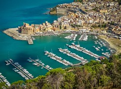 Castellammare del Golfo (einaz80) Tags: castellammare delgolfo del golfo trapani sicilia sicily fortress fortezza castle castello mare sea
