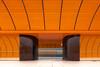Ghost train arrriving - Einfahrt des Geisterzuges (ralfkai41) Tags: zug minimalismus architektur architecture munich train minimalism ubahn longtimeexposure münchen bahnhof langzeitbelichtung subwaystation