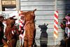 Happy shadow (Roberto Spagnoli) Tags: verona italy color fotografiadistrada streetphotography people shadow fujix100t mask reindeer renna