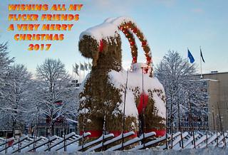 Christmas Wishes 2017 - Gävle Goat