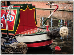 (daverigleyphotos) Tags: barge canals red water olympus em5 mk2 1240mm pro colour