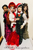 Merry Christmas! (wildxwoman) Tags: wildeimagination evangelineghasty mortimer mort tonner doll christmas parnilla ghastly angelique