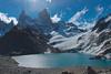 Three Peaks Lake or Laguna de los Tres Picos. (MdeM1157) Tags: 2017 argentina flickrchallengegroup flickrchallengewinner