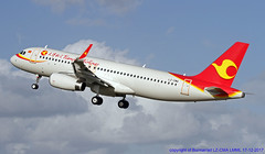 LZ-CMA LMML 17-12-2017 (Burmarrad (Mark) Camenzuli Thank you for the 10.3) Tags: airline tianjin airlines aircraft airbus a320214sl registration lzcma cn 7487 lmml 17122017