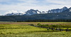Sawtooth Mountains, Idaho (maytag97) Tags: maytag97 nikon d750 idaho sawtooth range mountains landsape meadow natural nature split rail fence rugged outdoor