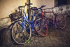 Rome's bikes (ale_brando) Tags: bike bikes bicicles ruins relict roma romebynight rome street streetphotography nikonfx fx d700 viveza2 niksoftware