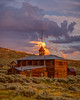 Bodie Schoolhouse at Sunset (Jeffrey Sullivan) Tags: schoolhouse bodie state historic park night photography workshop abandoned wildwest mining ghosttown travel weather clouds eastern sierra bridgeport california usa nature landscape canon 5dmarkiii photo copyright 2013 june jeffsullivan