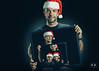 Merry Christmas !!! (Nicobert.com) Tags: portrait wacomintuosprosmall wacomintuos headshot godoxx1 sonyalphaa7rii christmas studioshot vscofilm fe55mmf18za sekonic child godox hdrlike 478d qt600ii france qt600 homestudio cartoonstyle photoshop children speedlight strobist hat studio octabox topaz woman ilce7rm2 ad600 l478d wacom ad200 godoxqt600ii portraitstrobist