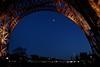 Eiffel Tower in a Blue hour (Juliotrlima) Tags: europa europe france frança paris torreeiffel eiffeltower goodtimes vacation férias canon markiii 2470