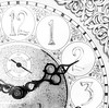 Time for a New Year (arrjryqp6) Tags: passingtime ticktock hours monochrome bw blackwhite numbers clock time