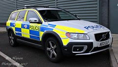 AE13 CLF (Ben Hopson) Tags: northumbria police volvo xc70 d5 4x4 armed response vehicle arv 999 emergency fsu firearms support unit anpr equipped car ae13clf