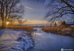 Winterly Lakeside Sunset (john_berg5) Tags: winter snow lake sunset chiemgau seeon nature landscape nikond750 ice
