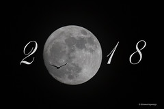 Welcoming 2018 with a Supermoon (shimmeringenergy) Tags: moon supermoon 2018 wolfmoon canoneos7dmarkii ef100400f4556isii lune superlune