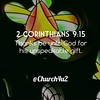 "2 Corinthians 9-15 ""Thanks be unto God for his unspeakable gift."" (@CHURCH4U2) Tags: all bible verse pic ifttt instagram"
