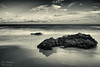 Playa de Calblanque (CesarValientePhotography) Tags: canon 700d tokina 1116 vanguard calblanque rocas mar playa cartagena blackwhite