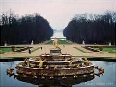 Versailles en hiver