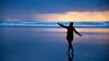 CannonBeach1 (dnaroland) Tags: beach oregon water waves joy weather rain sunset