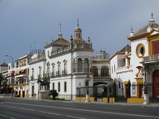 Paseo de Cristóbal Colón - Séville (Espagne)